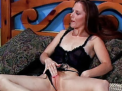 Stunning Emma Redd gets her body covered with cum after having her hairy pussy fucked hard
